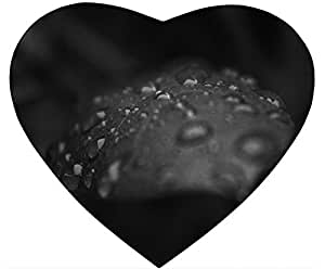 Raindrops On A Leaf Black And White Mouse Pad Desktop Laptop Mousepads Comfortable Office Mat Cute Gaming Mouse Pad