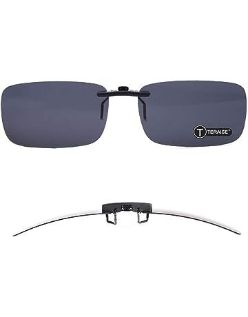 0803cb66dc126 TERAISE Polarized Clip-on Sunglasses Over Prescription Glasses Anti-Glare  UV400 for Men Women