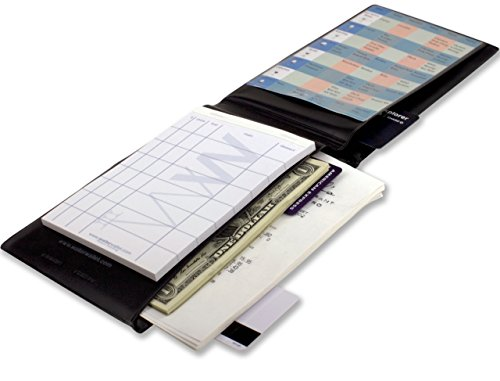 e30ed269ca61 Waiter Wallet Sr. | Server Book For Waiters & Waitresses | Fits Waitstaff  Apron | Premium Server Pad Included | Spill Resistant, Super Size Design  For ...