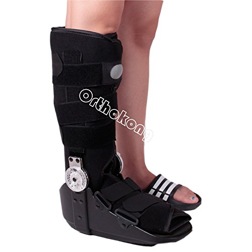 Pneumatic ROM Walker Fracture Walker Boot Medical Walking Boots Achilles Tendon Surgery Acute Ankle Injuries Sprains Inflatable Supports (Medium) by Orthokong (Image #1)