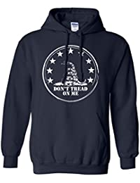 Don't Tread On Me Adult Hooded Sweatshirt in 9 colors