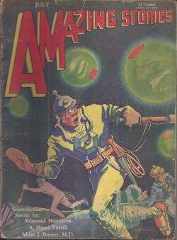 AMAZING Stories: July 1930 (