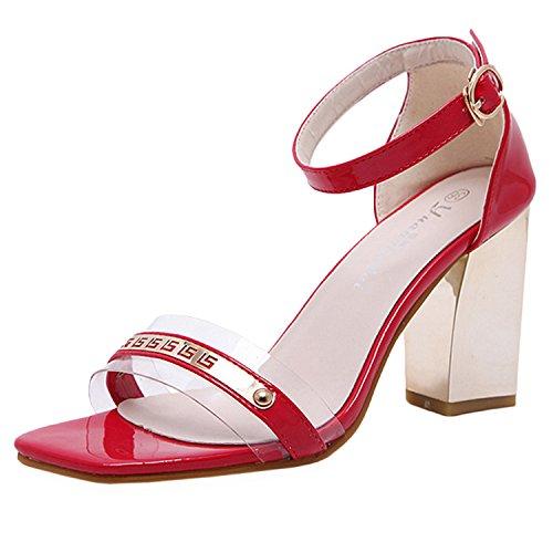 D2c Beauty Donna Sandalo Tacco Alto Con Cinturino Alla Caviglia E Cinturino Alla Caviglia