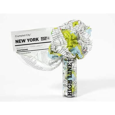 Crumpled City Map-New York (Crumpled City Maps)