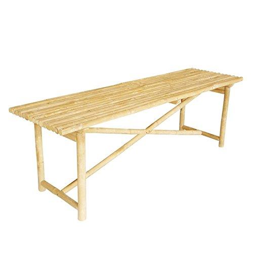 Bamboo Loveseat - Zero Emission World Bamboo Folding Bench