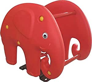 RBWTOYS. Rocking Seesaw Elephant Red Spring Rider For All Age Kids rbwtoy15206.