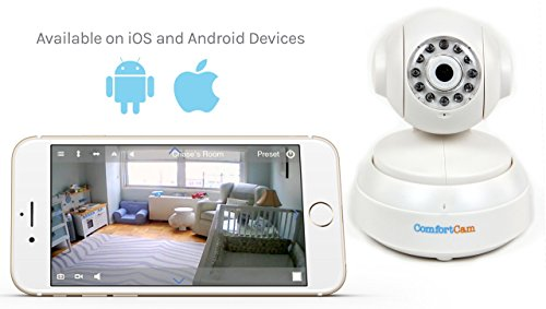 ComfortCam Pro HD Baby Monitor - Remote Viewing Baby Camera via