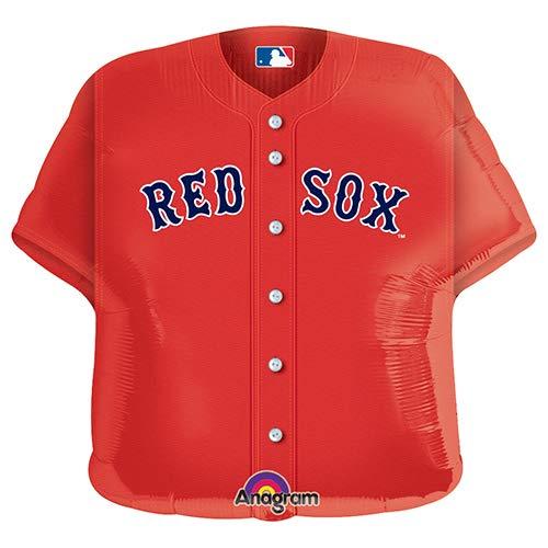 Anagram 18791 MLB Boston Red Sox Baseball Jersey Foil Balloon, 24