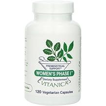 Vitanica Women's Phase I, Premenstrual Support, 120 Capsules
