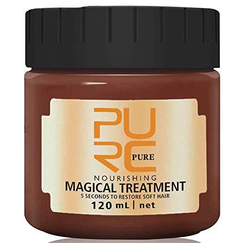 PURC 120ml Magical Treatment Mask Repairs Damage Restore Soft Hair Care 5 Seconds Repairs Damage Hair Root