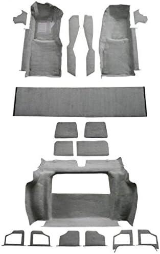 Amazon Com Acc Brand Carpet Compatible With 1979 Chevrolet Corvette Complete Kit With 2 Compartment Doors 840 Navy Plush Cut Pile Automotive