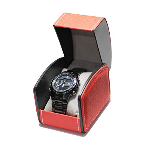 HUNGER PU Leather Single Bracelet Bangle Jewelry Watch Gift Box