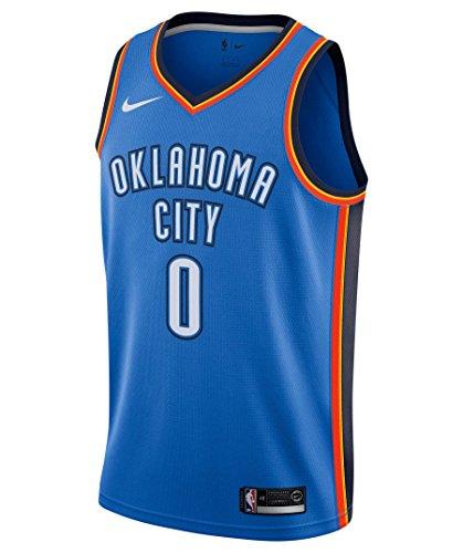 Mens Nike Nba Oklahoma City Thunder Russell Westbrook Swingman  Small