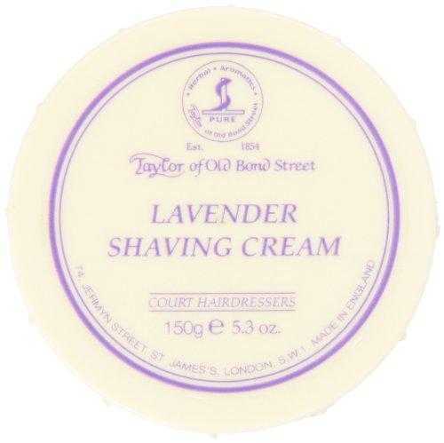 Taylor of Old Bond Street Lavender Shaving Cream Bowl, - Soap English Shaving