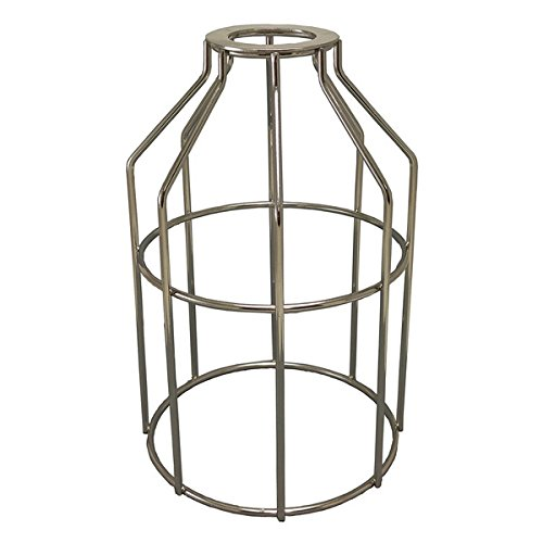 Silver Cage Pendant Light