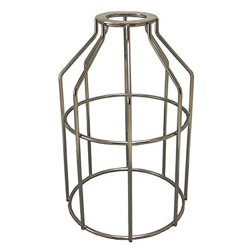 Silver Cage Pendant Light - 4