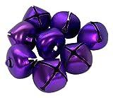 ArtVerse Holiday Jingle Bells, 25mm, Matte Purple (2064 Bells)