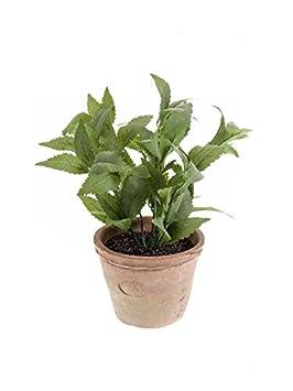 Artplants Menthe Artificielle Lucano Dans Son Pot En Terre