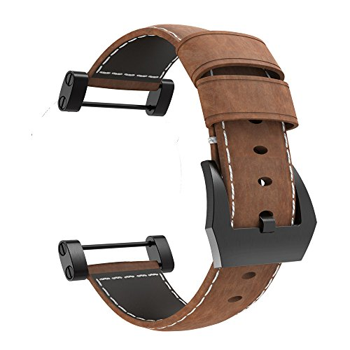 - Octane Bands Suunto Core Watch Band - Leather Strap Replacement Kit - Includes Lugs Adapters, Threadlocker, and Tools