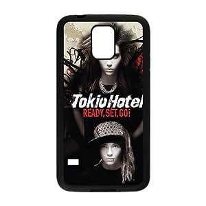 Samsung Galaxy S5 Cell Phone Case Covers Black Tokio Hotel JMD