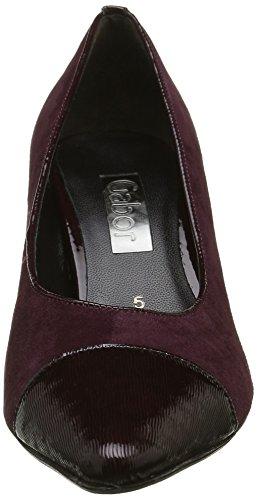 15 Gabor Escarpins Femme Merlot Fashion New Merlot Rouge Shoes nAqTwA7xr8