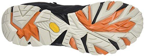 Hautes Noir Fst gore orange Chaussures Mid Merrell tex De black Randonnée Moab Homme SwpqTHxH8