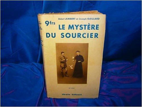Téléchargement Le mystère du sourcier epub pdf
