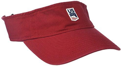 US Ski-Snowboard Licensed Apparel U.S. Ski Team Logo Visor – DiZiSports Store