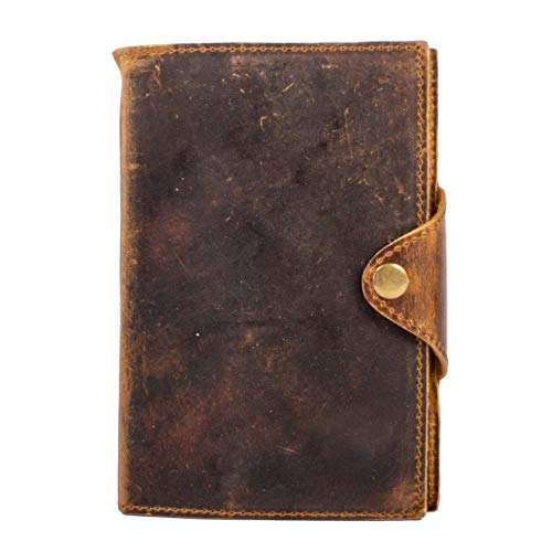 Drifter 2 Complete Body - Genuine Leather Drifter Journal, Leather Bound, Refillable Daily Notebook With 210 Blank Pages