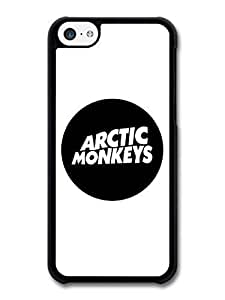 MMZ DIY PHONE CASEAMAF ? Accessories Arctic Monkeys Rock Band Rounded Logo case for iphone 6 plus 5.5 inch