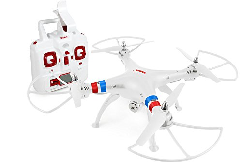 Syma X8W 2.4Ghz 4CH RC Headless FPV (Real Time) Quadcopter with Wifi Camera - WHITE
