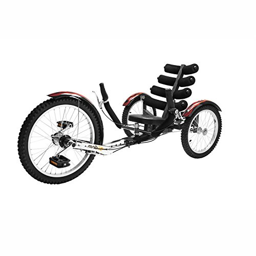 Mobo Shift (Black) The Worlds First Reversible Cruiser (Recumbent Trike)
