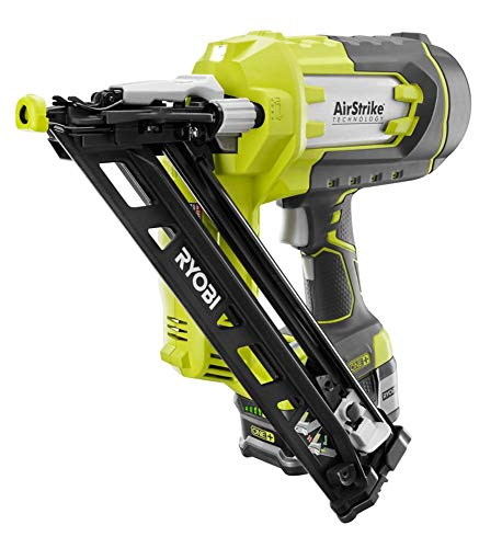 Ryobi P330 18V ONE+TM Angled 15 Ga Finish Nailer Battery and Charger Not Included 18v Angled Finish Nailer