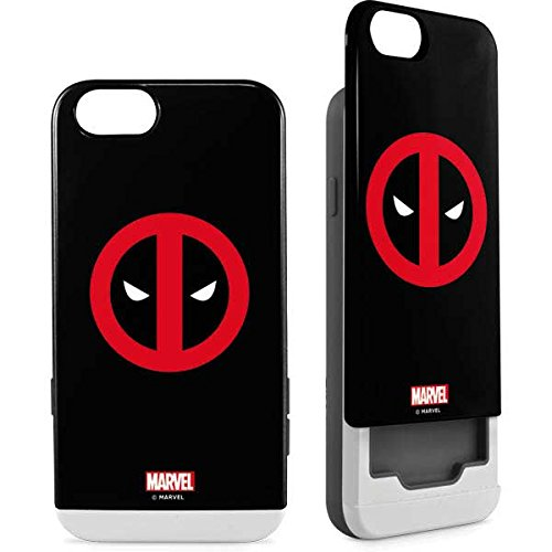 premium selection 35fde f05c7 Amazon.com: Deadpool iPhone 6/6s Case - Deadpool Logo Black | Marvel ...