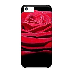 New Style Case Cover WoV11327eMsq Rose Compatible With Iphone 5c Protection Case