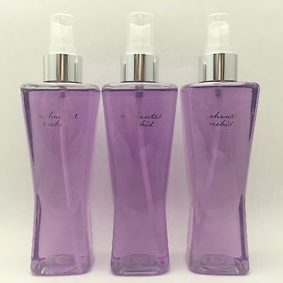Bath & Body Works Enchanted Orchid Body Splash Mist - THREE Bottles!