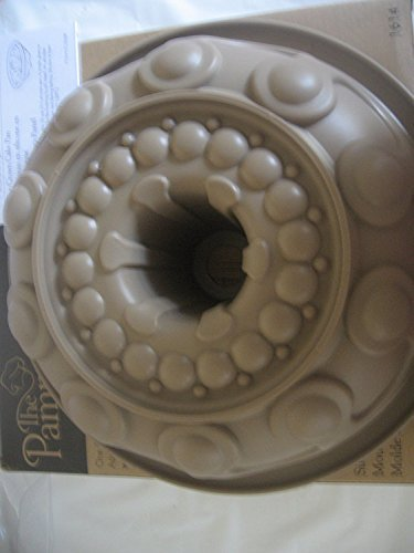 Pampered Chef Silicone  inchCrown inch Bundt Caking Baking Pan