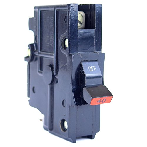 FEDERAL PACIFIC NA40 FPE Federal Pacific Stab-lok Circuit Breaker, 1 Pole, 40 AMP, (Federal Pacific Electric Circuit Breaker)