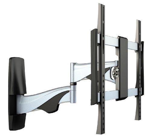 RICOO Flachbild-Fernseher Fernseh-Halterung S0444 Curved TV Wandhalterung Schwenkbar Neigbar LED LCD VESA-Halterung 4K OLED Bildschirm 42-50-55 Zoll