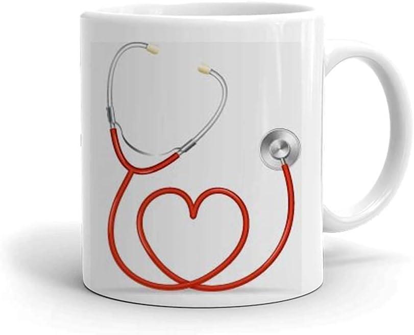 N\A Taza de café de cerámica con Tema médico - Regalo para médicos