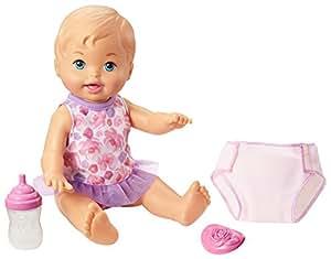 Little Mommy Drink & Wet Doll, Blue Eyes