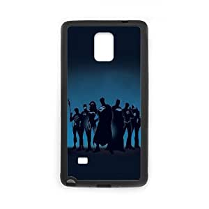 Super Heroes Samsung Galaxy Note 4 Cell Phone Case Black DIY Gift xxy002_5181494