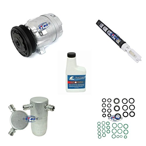 A/C Remanufactured Compressor Kit Fits Chevrolet Cavalier 95-02,Pontiac Sunfire 95-02 V5 L4 2.2L 57981 ()