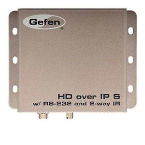 Gefen EXT-HD2IRS-LAN-TX HDMI, RS-232 and bi-directional IR Extender over IP - Sender - 1 Input Device - 1 x Network (RJ-45) - 1 x HDMI In - Serial Port - WUXGA - 1920 x 1200 (Extender Port Serial Rs 232)