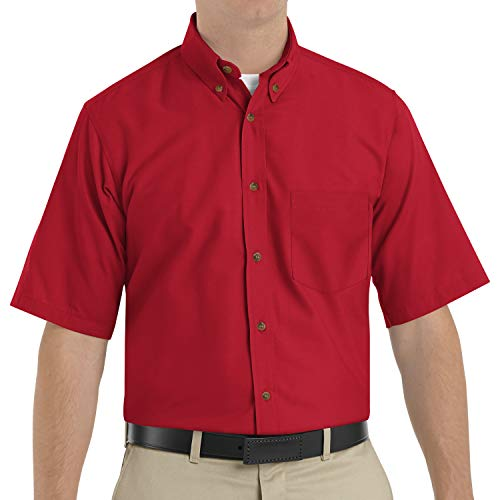 Red Kap Men's RK Poplin Dress Shirt