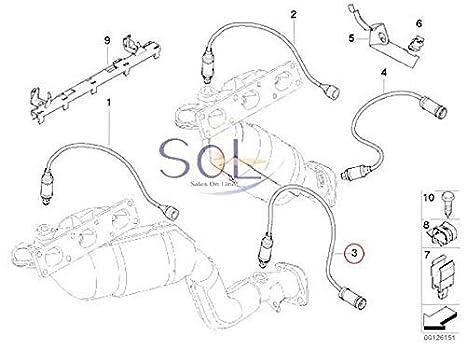 Amazon Com Bosch Oxygen Sensor 11781433940 Automotive