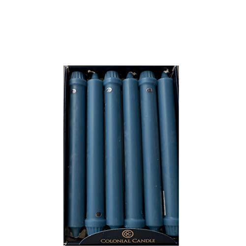 Classic Dinner Candles - Colonial Candle Wedgwood 8 Inch Classic Dinner Candles