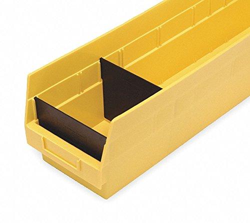4 1/8 Divider Bin - QUANTUM DSB201/203/205 Dividers for Shelf Bins, Fits Bins with 4-1/8