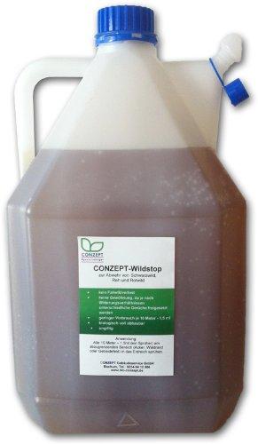 Bio-Conzept Wildsperre 5 l (Abwehr von Maulwürfen, Rot-, Reh- und Schwarzwild)