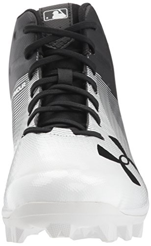 Under Armour Mens Leadoff Mid Rm Zwart (001) / Wit